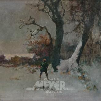 Gemälde ''Winterliche Landschaft