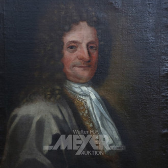 Gemälde ''Herrenportrait/Adeliger Mann''