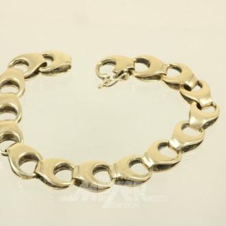 Armband, 585er GG (Säuretest)