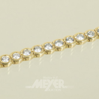 Armband, 750er GG, Allianzform,