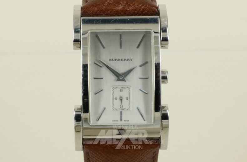 Armbanduhr BURBERRY, Stahl, Quarz