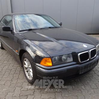BMW 316i E36, schwarz