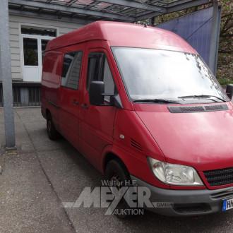MERCEDES-BENZ Sprinter 208CDi, rot,