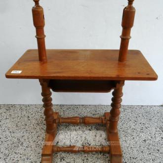 kl. Tischgestell/Bock, Eiche