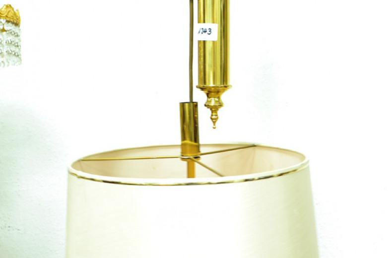 Hänge-Zuglampe, Messing,