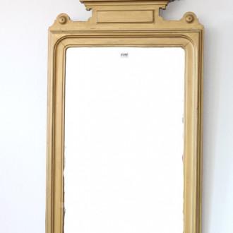 Wandspiegel, 19 Jh., goldfarbiger