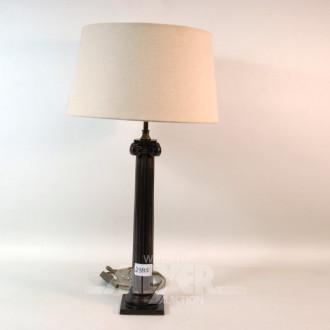 Tischlampe, Säulenlampenfuß