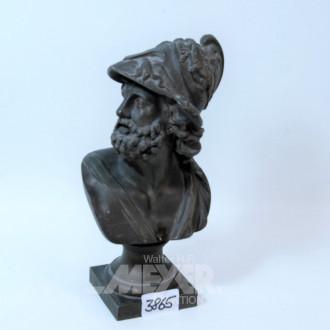 Zinkguß-Figur ''Grieche''