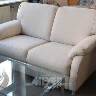 Sofa, beige, 2-sitzig