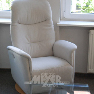 TV-Sessel, beige