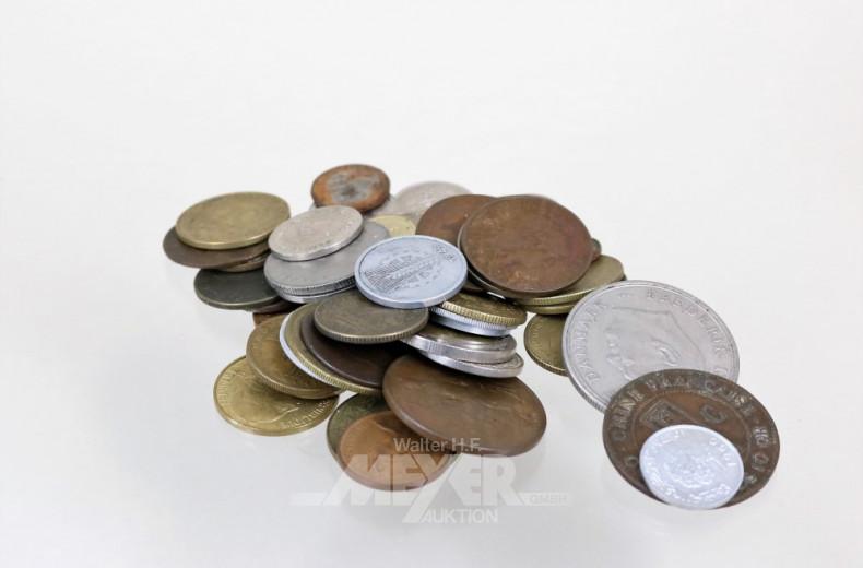 Posten Münzen