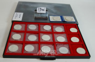 17 Münzen DM 10,--