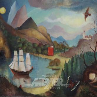 Gemälde ''Märchenlandschaft''