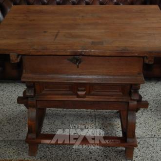 alter Zahl/Kassen-Tisch ''Rhöntisch'',