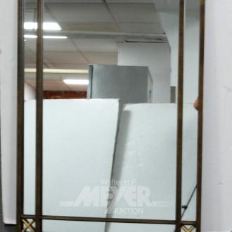 Wandspiegel, Metallrahmen