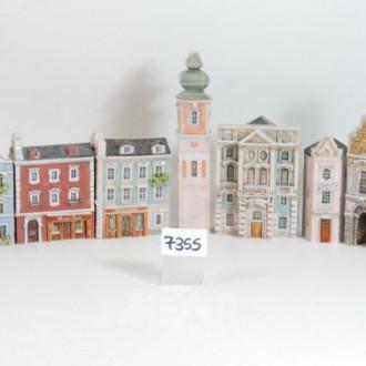 Posten Miniaturhäuser, ''Straßenszene''
