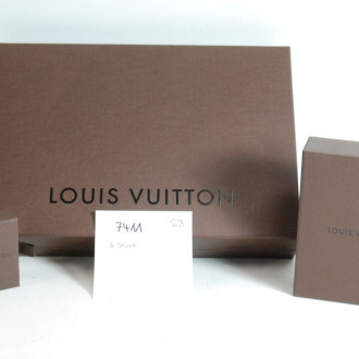 3 Leerkartons ''LOUIS VUITTON''