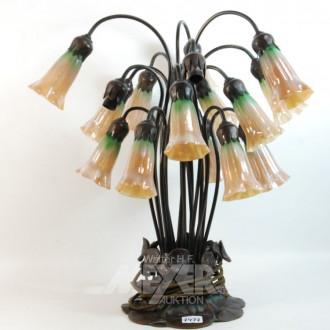 Tischlampe im Jugendstil,