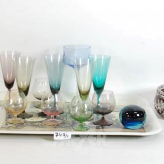 Posten Glas und Kristall: Gläser,