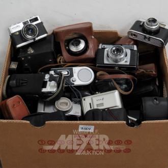 gr. Posten alter Fotoapparate,