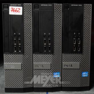 3 Desktoprechner DELL