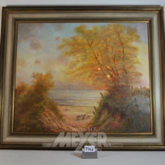 Gemälde ''Seelandschaft''
