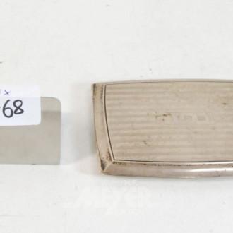 Zigaretten-Etui, 925er Silber
