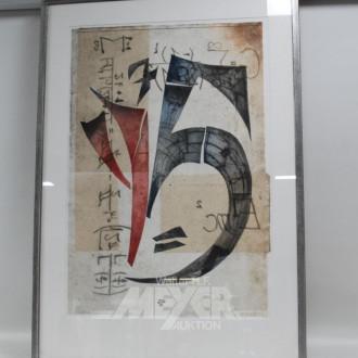 mod. abstraktes Bild
