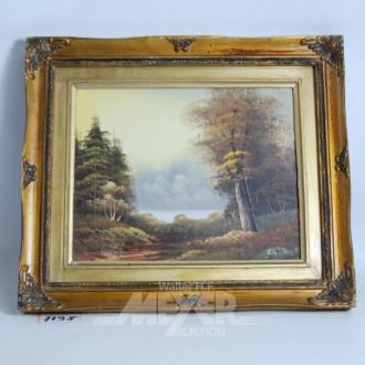 Gemälde ''Waldsee''