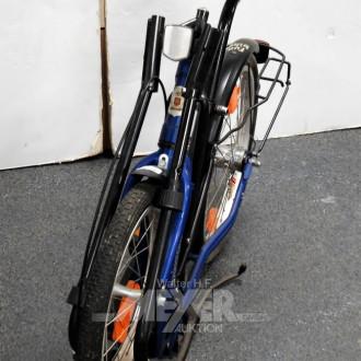 Klapp-Fahrrad ''Rabeneick'', blau