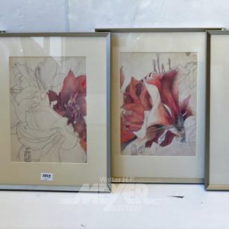 4 color. Drucke Horst Jansen
