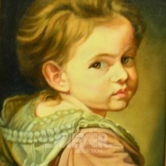 Druck  ''Die kleine Nanette''