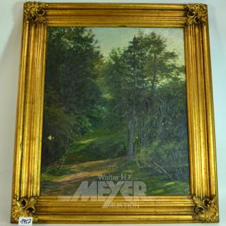 Gemälde, ''Waldlandschaft'',