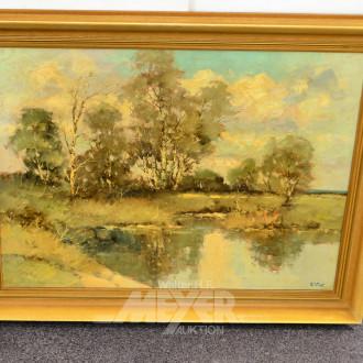 Gemälde ''Sommer im Moor''