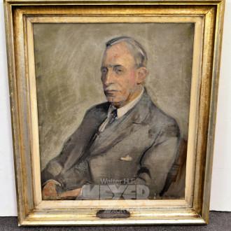 Gemälde, ''Herrenportrait,