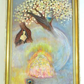 Gemälde, ''Phantasiebaum''