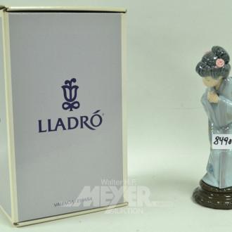 Porzellanfigur, Lladro, ''Chinesin''