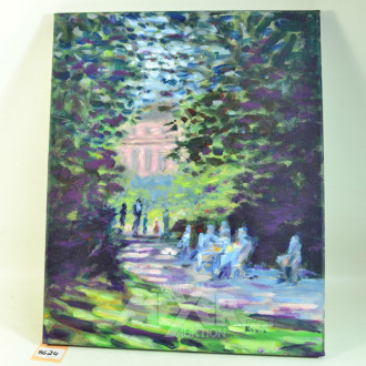 Gemälde, ''Parkszene''