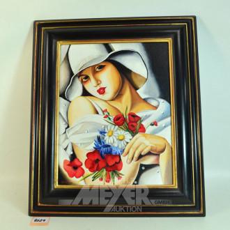 Gemälde ''Die Dame''