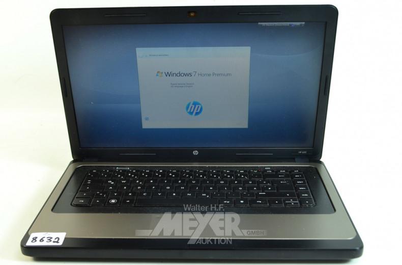 Laptop, ''HP 635'' ohne Ladekabel