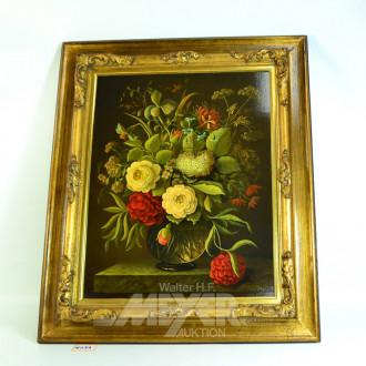 Bild, ''Blumenstilleben'' 48 x 39 cm