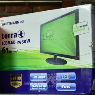 Monitor, TERRA, LCD/LED 2450W, 24'',