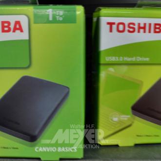 2 ext. Festplatten, TOSHIBA