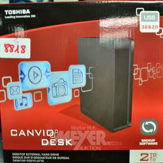 externe Festplatte, TOSHIBA USB 30