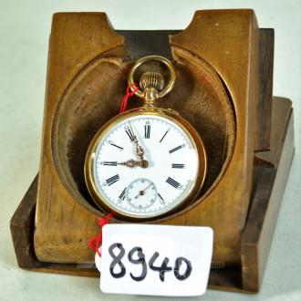 Taschenuhr, 585er GG, Innendeckel Metall