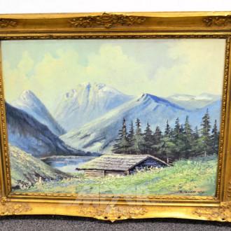 Gemälde ''Gebirgslandschaft''