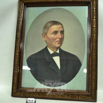 Bild ''Herren-Portrait'' 57 x 43 cm