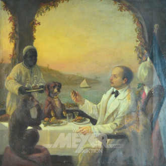 Gemälde ''Dinner''