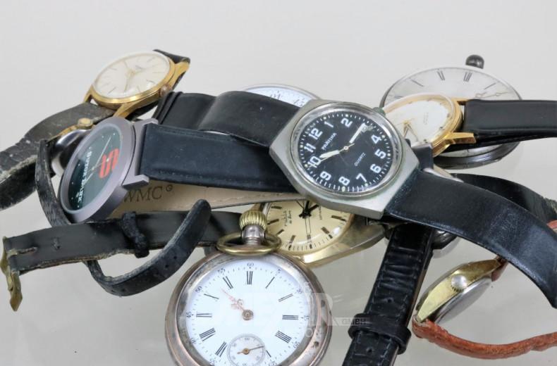 Posten versch. Armbanduhren, beschädigt