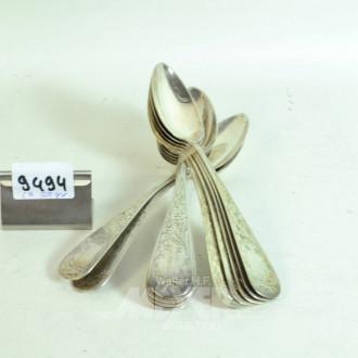 12 Suppenlöffel, 800er Silber